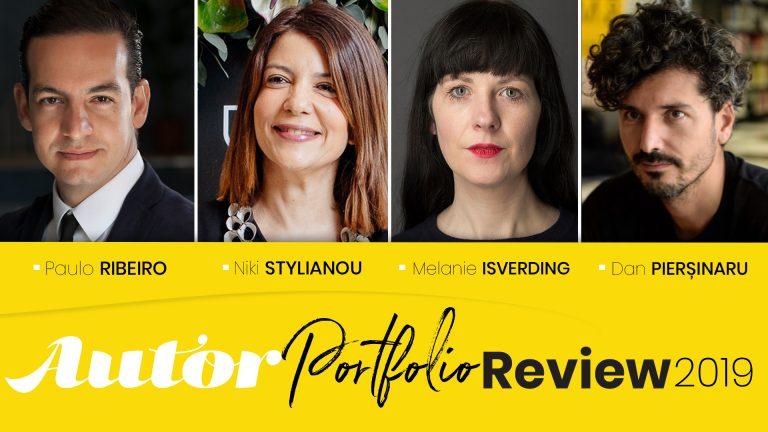 Autor portfolio review