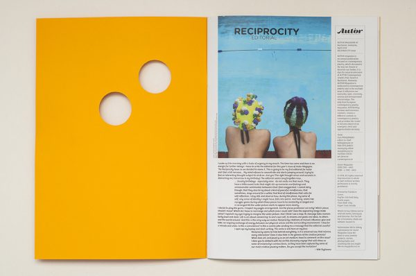 Autor Magazine – The Reciprocity Issue