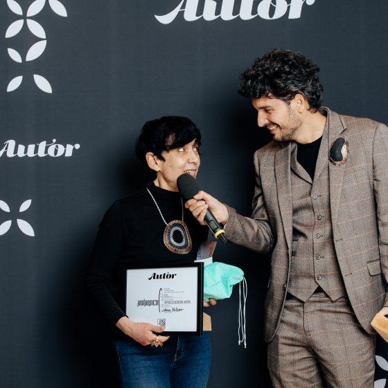 Autor2019-Venice Design Week Award